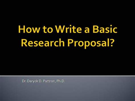 Outline examples for research paper